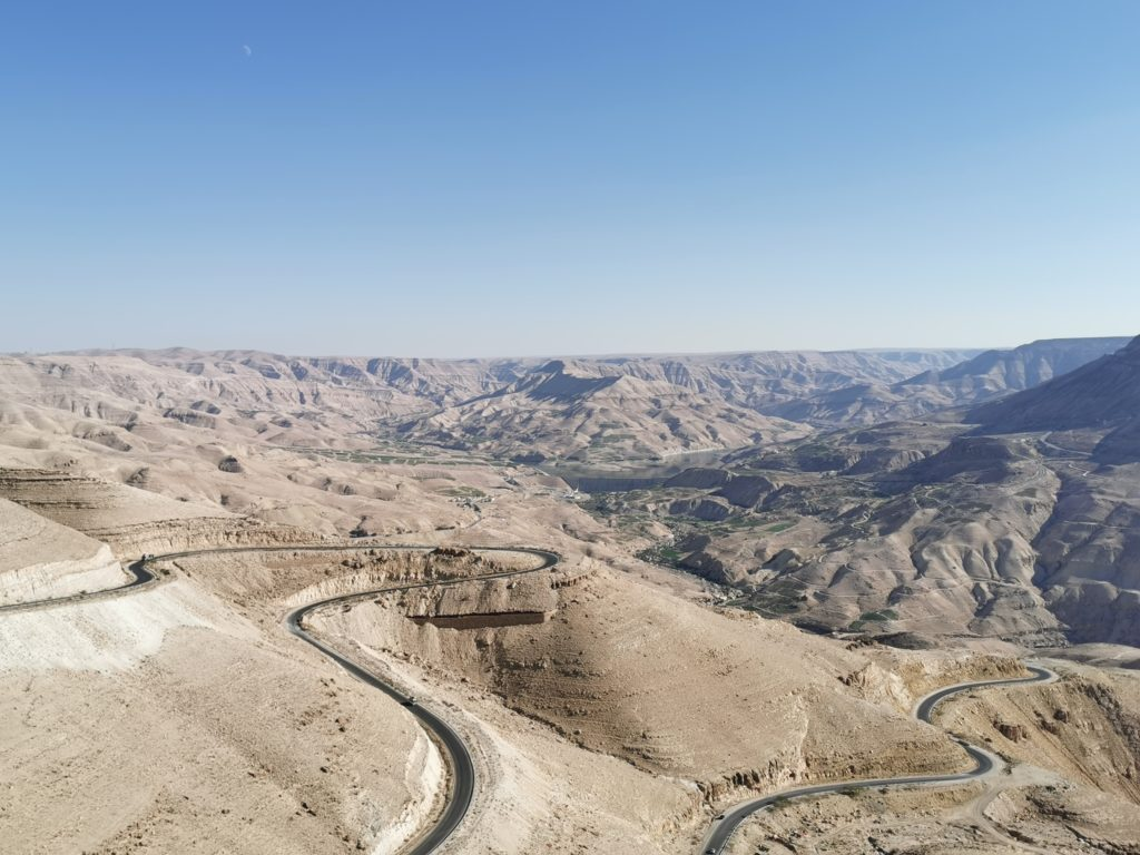 vue canyon jordanie