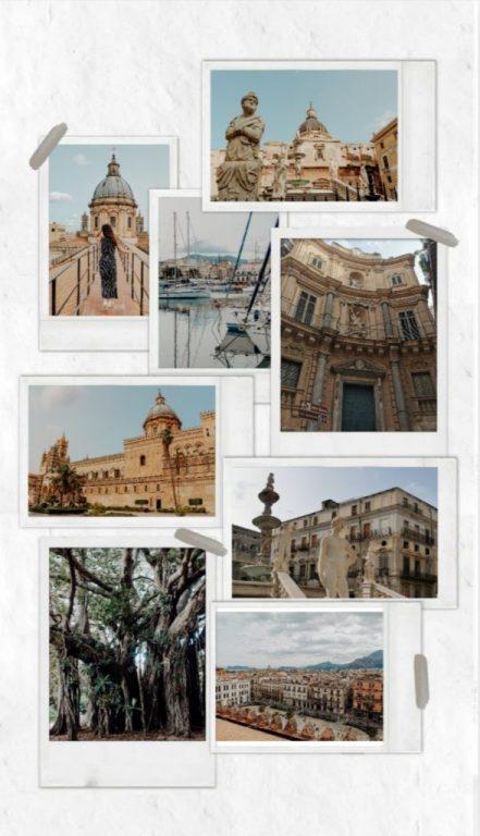 Montage photo de Palerme - les essentiels à voir - Sicile
