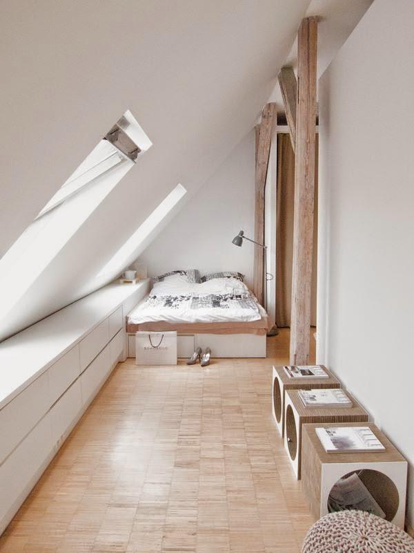 Très Comment aménager une chambre sous combles - Lili in wonderland WS92