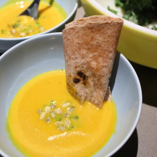 Vegan Carrot Coconut Soup