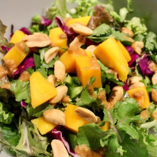Thai Mango Salad with Peanut Dressing