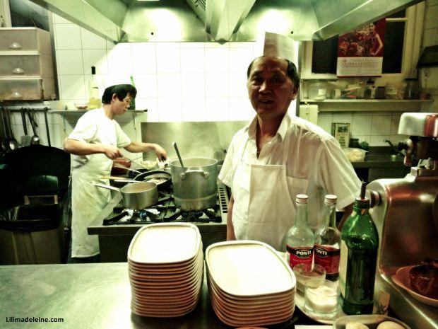 Mele al forno chef