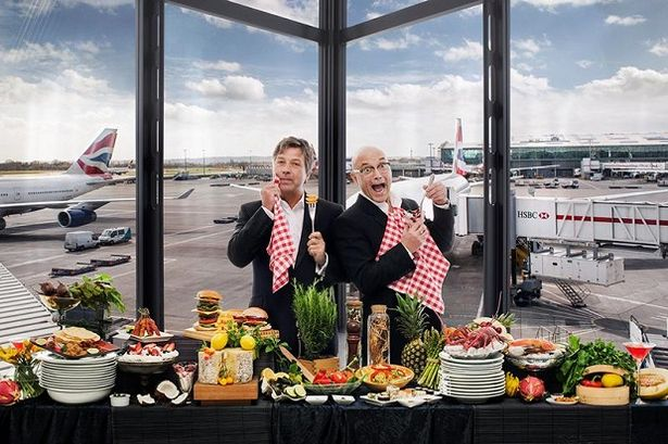 John-Torode-and-Gregg-Wallace Heathrow