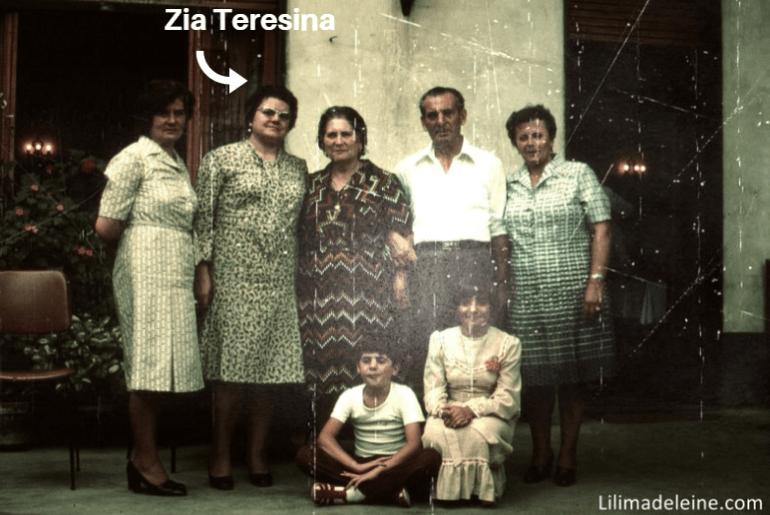 zia teresina e nonni