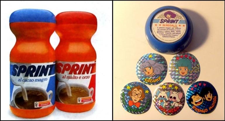 Sprint e figurine Creamy
