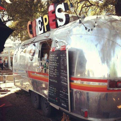 Food trucks crepes