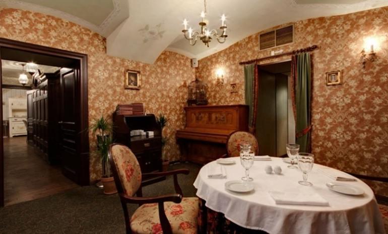Ristoranti letterari Gogol Restaurant San Pietroburgo
