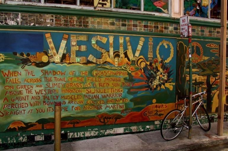 Ristoranti letterari Vesuvio Caffe San Francisco
