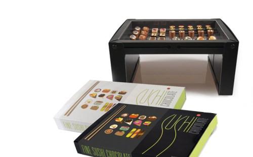 Sushi di cioccolato