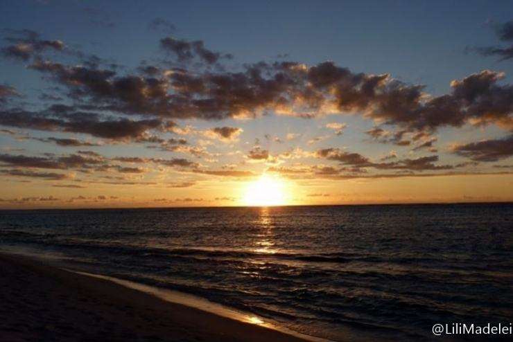 Mauritius tramonto