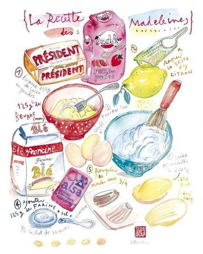 madeleine ricetta