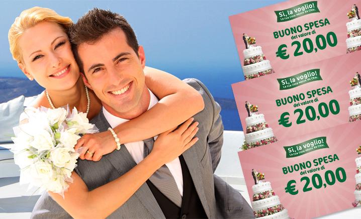 Lista nozze supermercato Crai