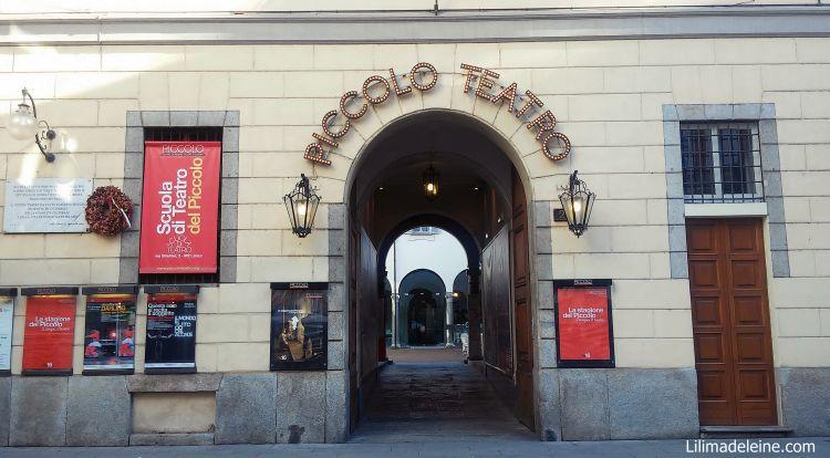 Piccolo Teatro Milano chiostro