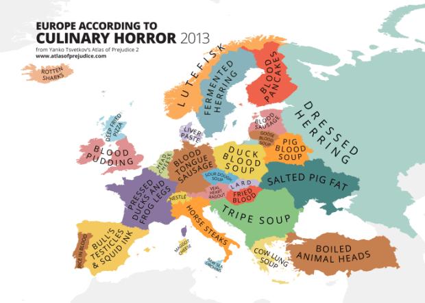 Orrori culinari in Europa