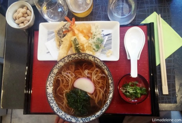 soba tempura