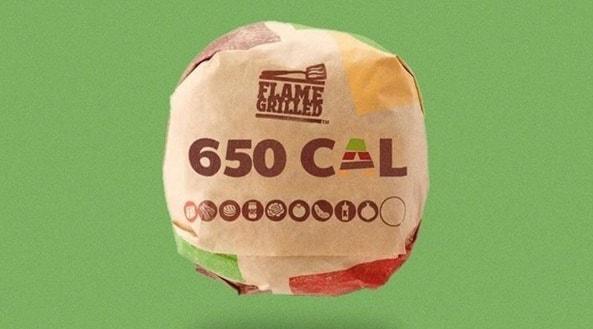 calorie Burger King