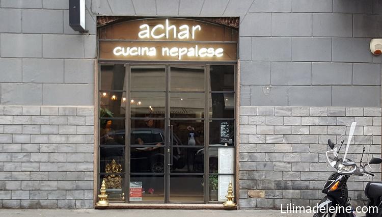 Achar Milano via Piero della Francesca