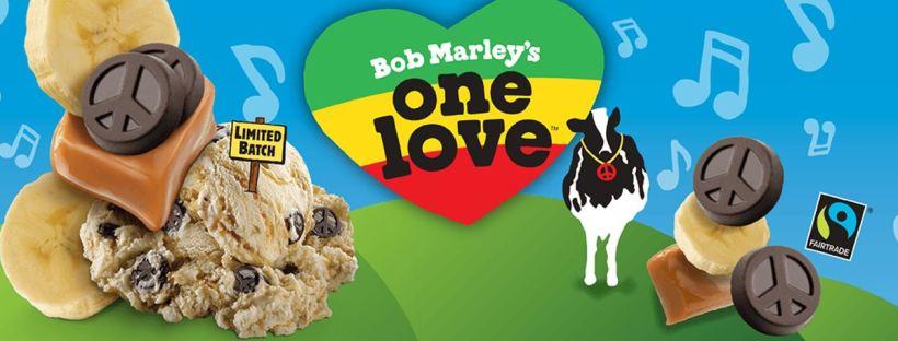Ben & Jerry's gelato Bob Marley