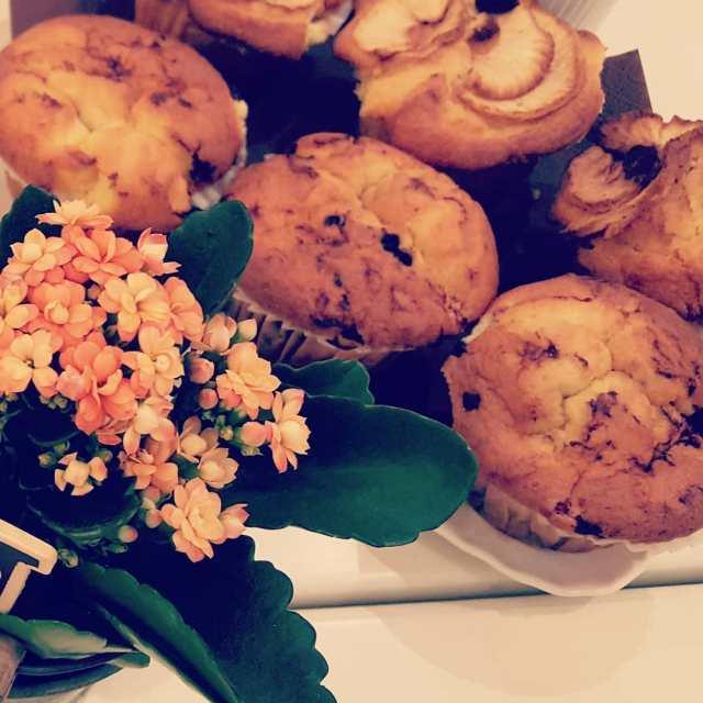 Giorno!    muffin muffins breakfast petitdejeuner colazione foodpornhellip