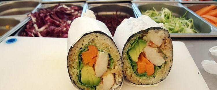 Fusho Milano sushi burrito