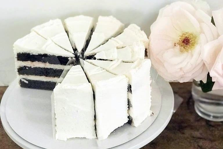 violet bakery cake