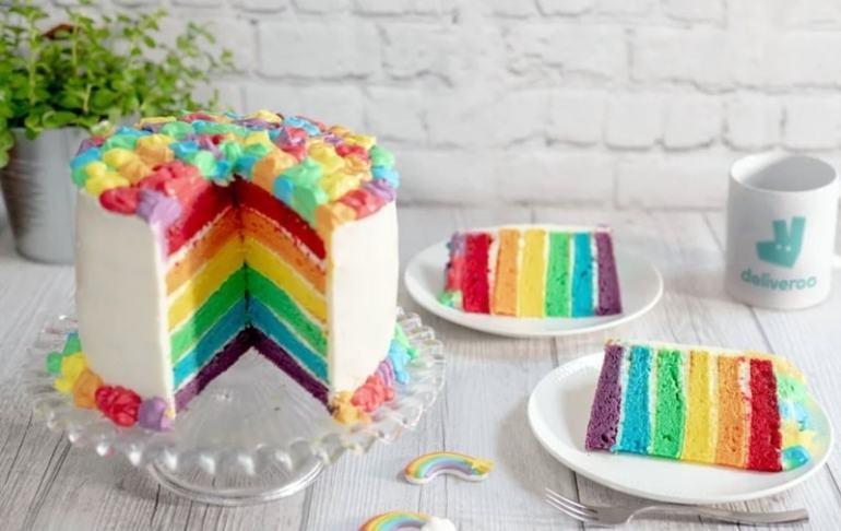 rainbow Cake Milano pride 2019