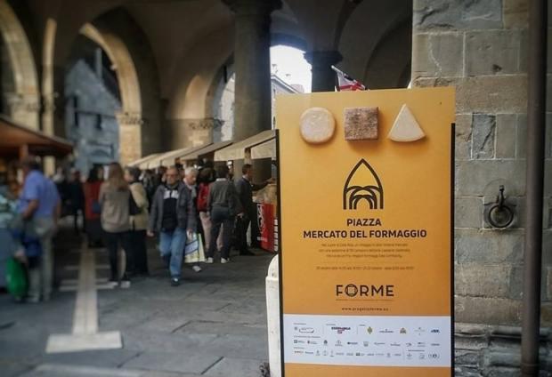Forme bergamo 2018 capitale europea dei formaggi