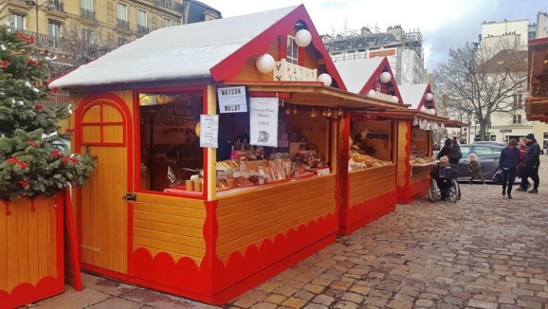 Mercatini di Natale Parigi Saint Germain des Pres