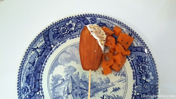 madeleine salate alla zucca