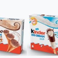 Stanno per arrivare anche in Italia. Cosa? I gelati Kinder. Mai provato il cono Kinder Bueno?