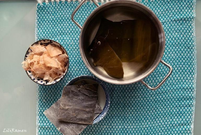 Brodo dashi giapponese ricetta