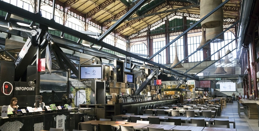 Aprirà entro la fine dell'anno in Stazione Centrale Mercato Centrale Milano