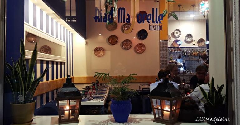 Riad Majorelle Bistrot Milano via San Gregorio