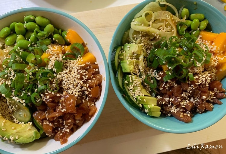 poke bowl ricetta