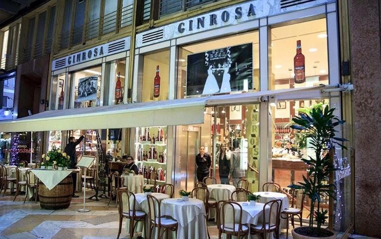 Locali storici Milano Gin Rosa