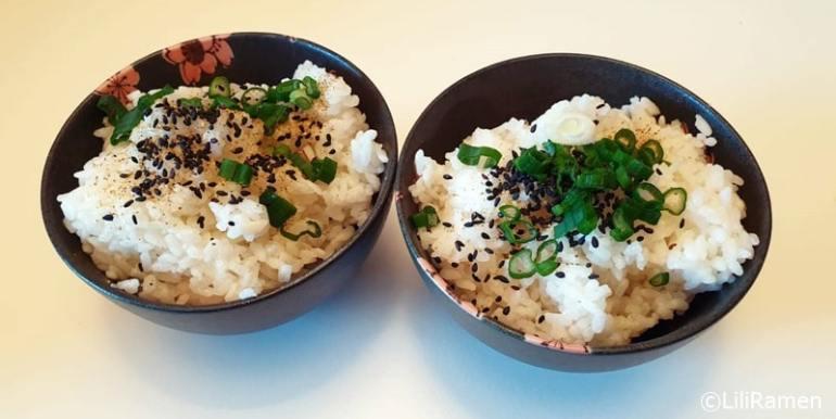 gohan riso bianco giapponese