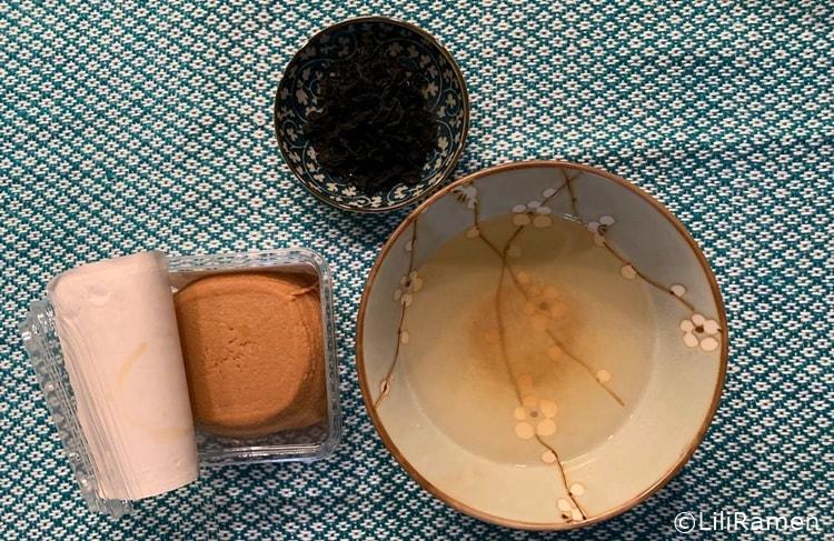 Zuppa di miso giapponese ricetta