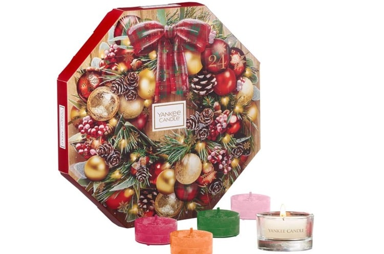 Calendario dell'Avvento 2019 Yankee Candle
