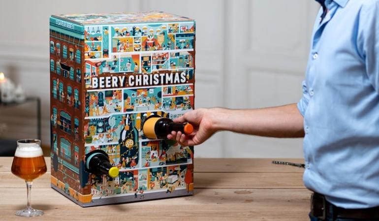 Calendario dell'Avvento birra Beery Christmas