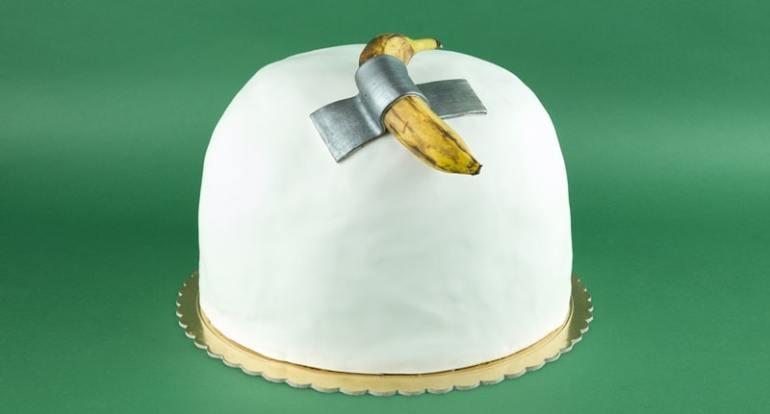 panettone banana Cattelan