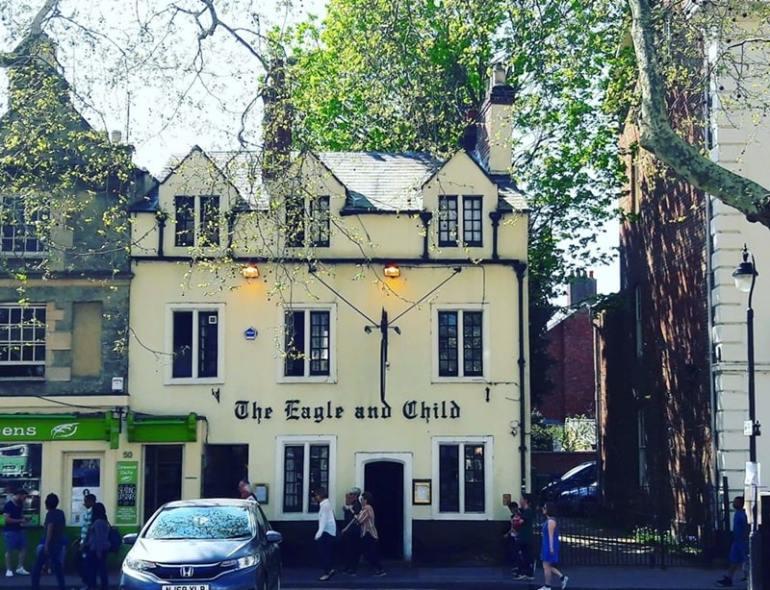 Caffè letterari The Eagle and Child Oxford