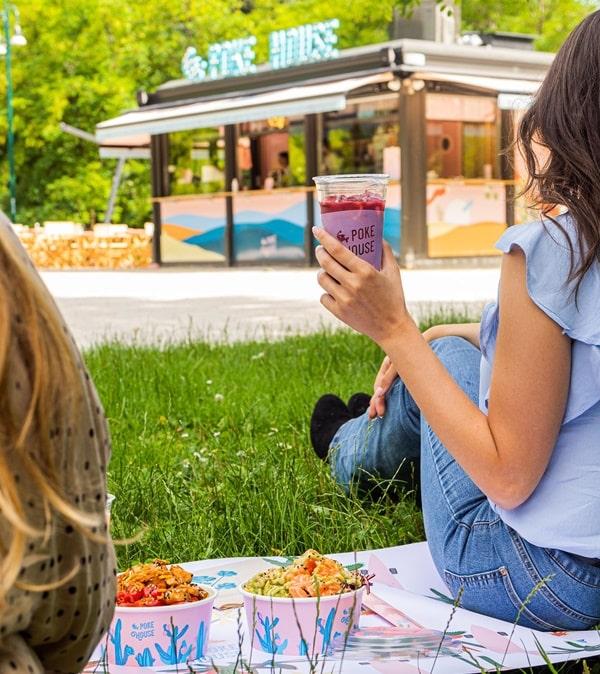 mangiare al parco sempione poke house