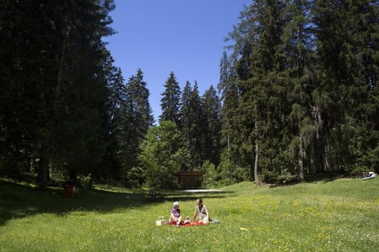 Val di Non picnic