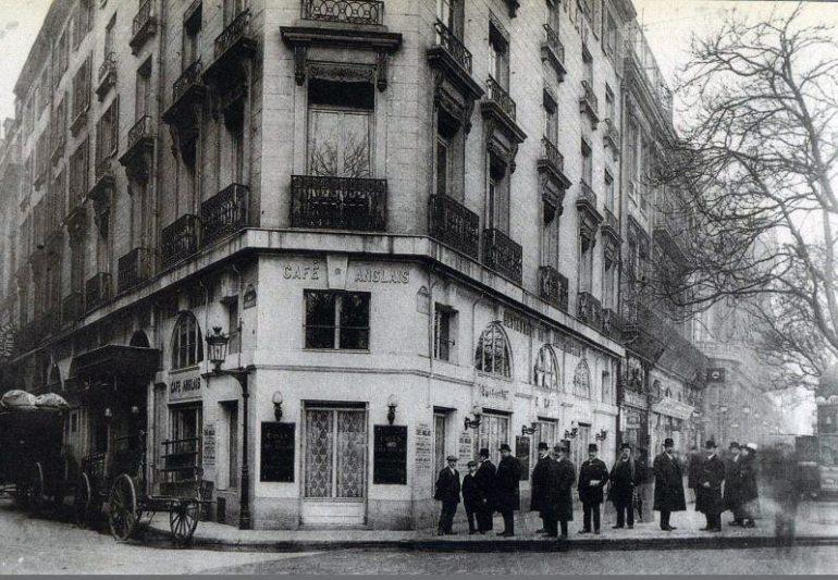 Cafe Anglais Parigi