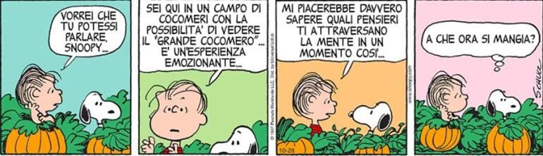 Snoopy il Grande Cocomero