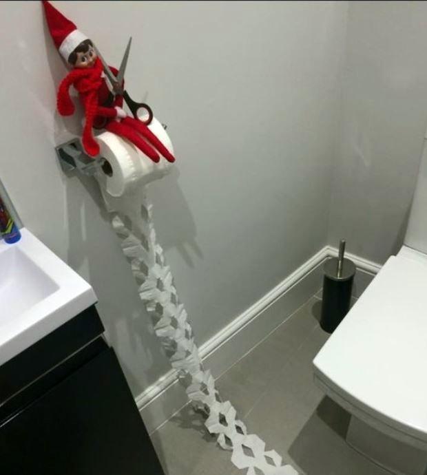 elf on the shelf idee