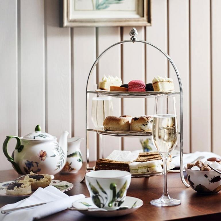 sandrigham afternoon tea