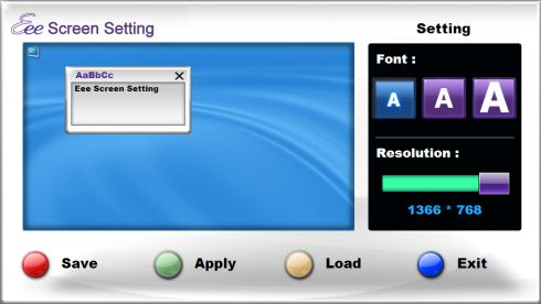 eee-screen-setting