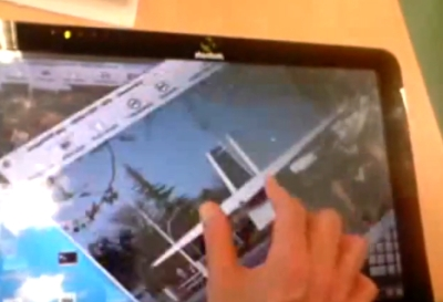 multitouch linux