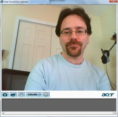 acer crystaleye webcam